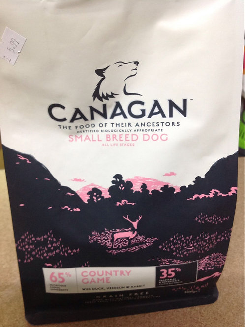 Canagan Dog S/Breed Country Game 500g