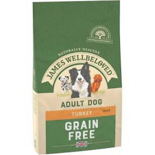 James Wellbeloved Grain Free Turkey Vegetable Adult Dog Food
