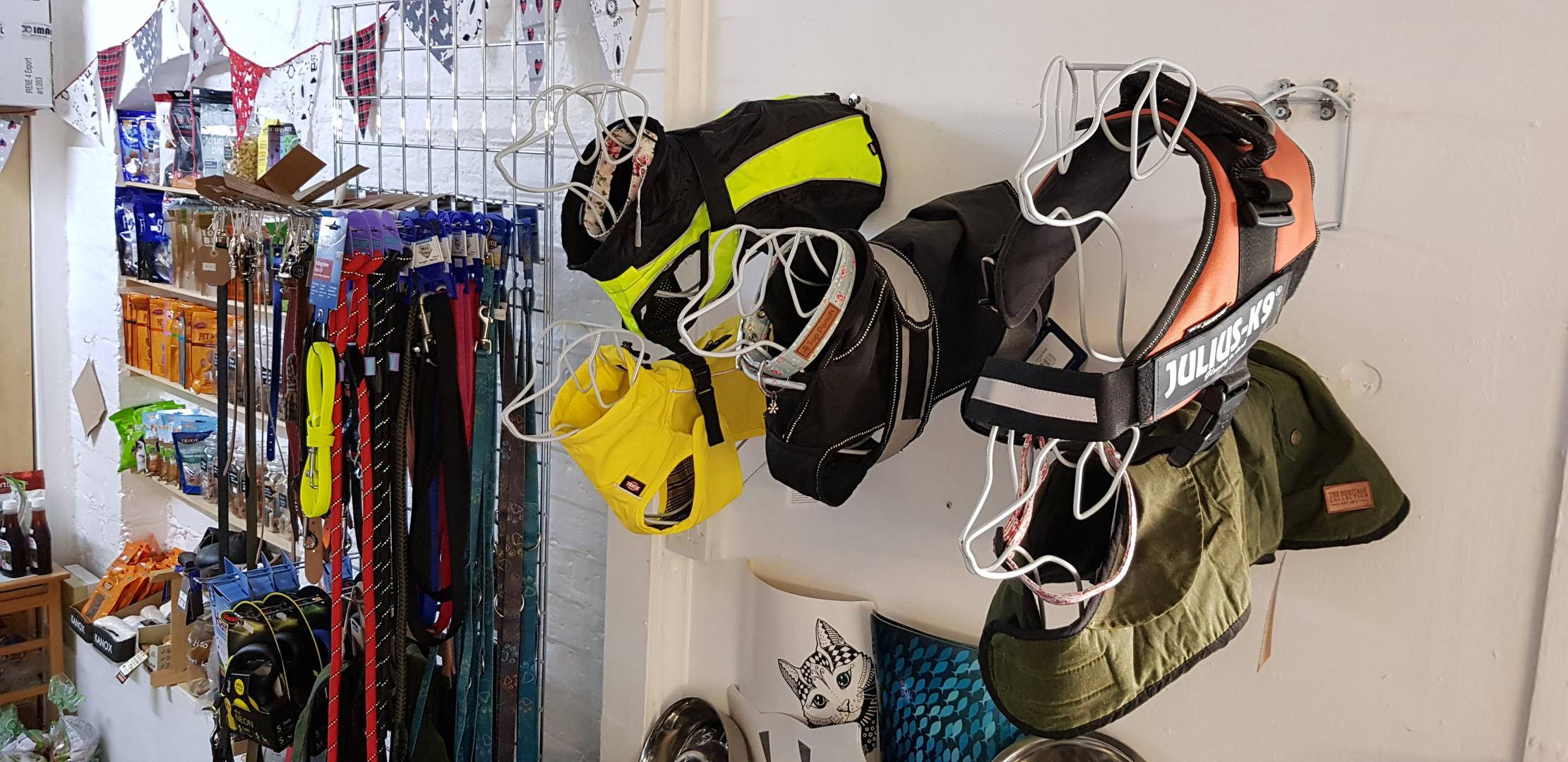 Dog Coats & Harnesses etc