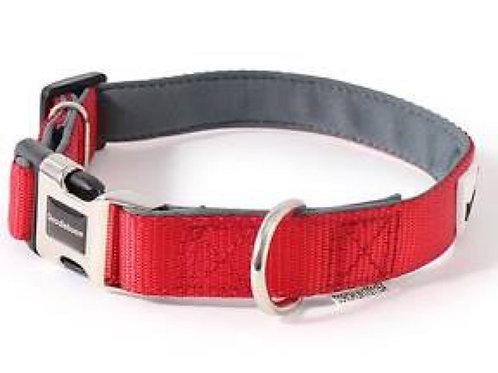 Red X-Small Bold Range Padded Collar