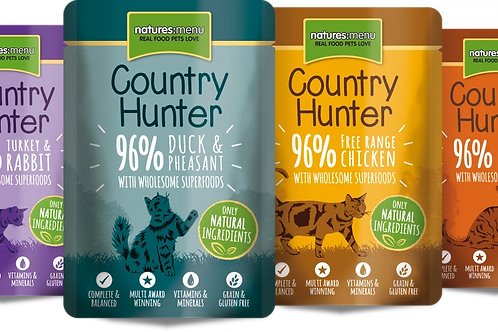 Country Hunter Superfood Selection Cat Pouches 85g