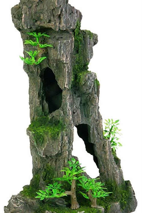 Aquarium Rock Cave Plants 28cms