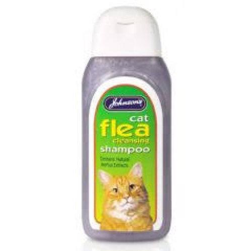 Johnson's Cat Flea Shampoo 200ml