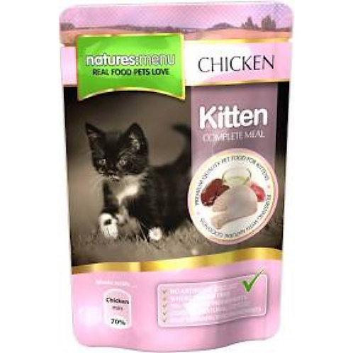natures:menu Kitten Multipack Chicken