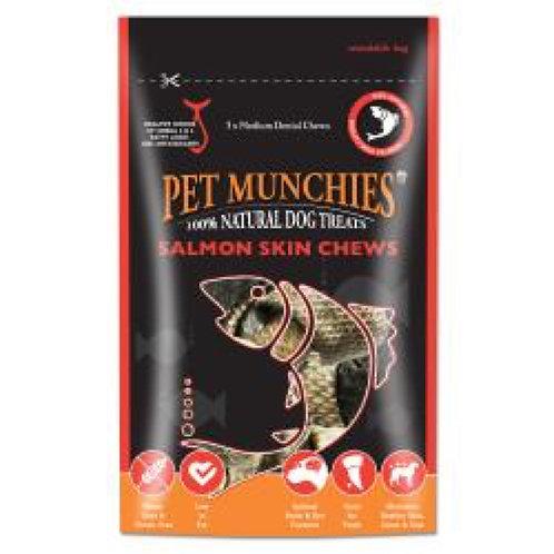 Pet Munchie Salmon Skin Chews