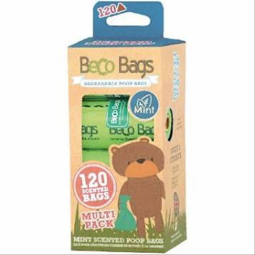 Beco poop bags mint scented 120 bags
