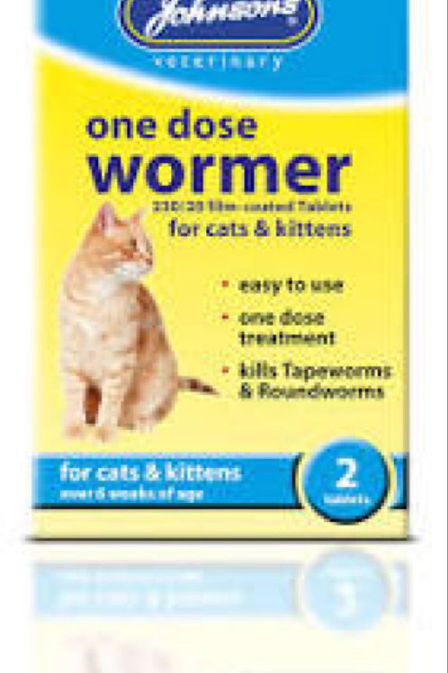 Johnsons One Dose Cat Wormer