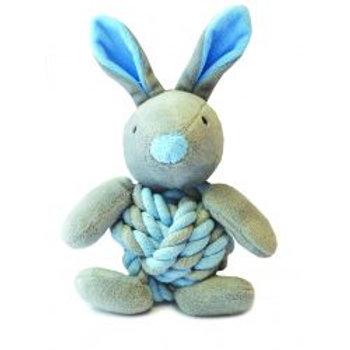 Little Rascals Bunny Knottie Dog Toy
