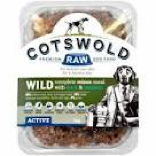 Cotswold Raw Wild Mince Venison & Duck 500g