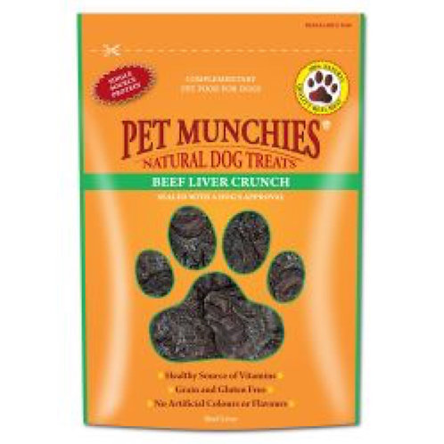 Pet Munchies Beef and Liver Crunch