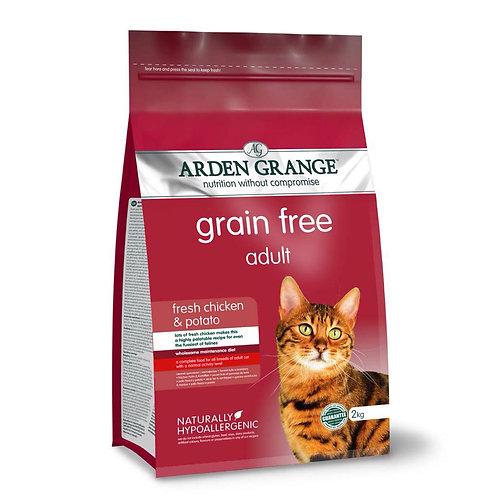 Arden Grange Grain Free Chicken and Potato for Cats 2kg