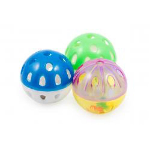 Ancol Ball with Bell Cat Toy