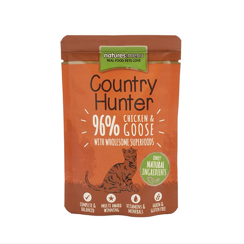 Country Hunter Chicken and Goose 85g Pouch for Cats