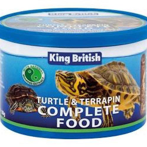 King British Turtle and Terrapin Food 80g