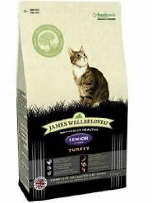 James Wellbeloved Senior Cat Food Turkey 1.5kg
