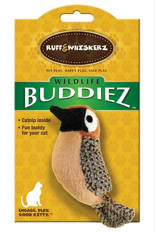 Ruff & Whiskerz Buddiez Bird Catnip Cat Toy