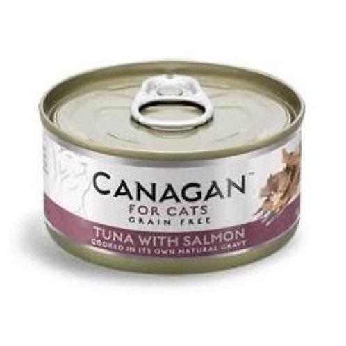 Canagan Cat Can Tuna x Salmon 75g
