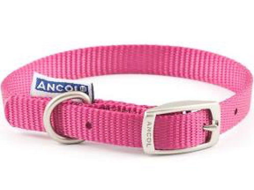 Ancol size 2 neck 26-31cm Pink Collar