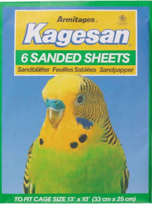 Kagesan Sanded Sheets 33x25cm GREEN