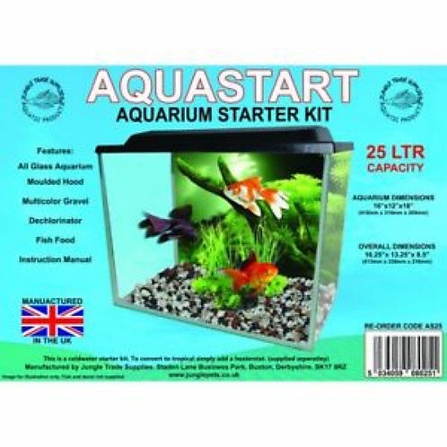 Aquarium Starter Kit (25ltr)