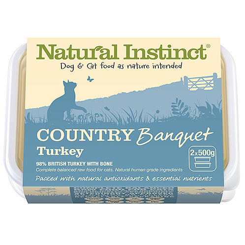 Country Banquet Turkey Cat  1 kg