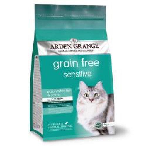 Arden Grange Cat Grain Free Sensitive 2kg