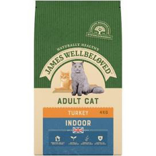 James Wellbeloved Adult Indoor Cat Turkey 1.5kg
