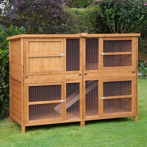 6ft Chartwell Double Rabbit Hutch