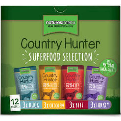 natures:menu Dog Country Hunter Pouches