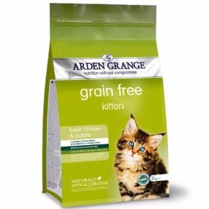 Arden Grange Grain Free Kitten with Fresh Chicken & Potato Dry 2kg