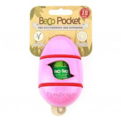 Beco Pocket Pink Bag Dispenser