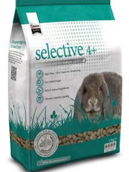 Selective 4 plus rabbit food