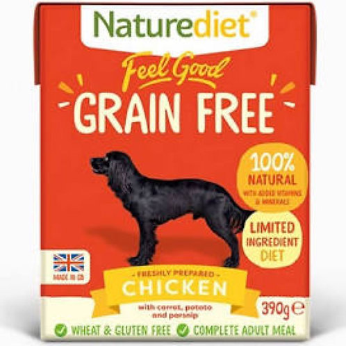 Naturediet Feel Good Grain Free Chicken 390g