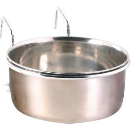 Trixie Stainless Steel Bowl with Holder 300ml