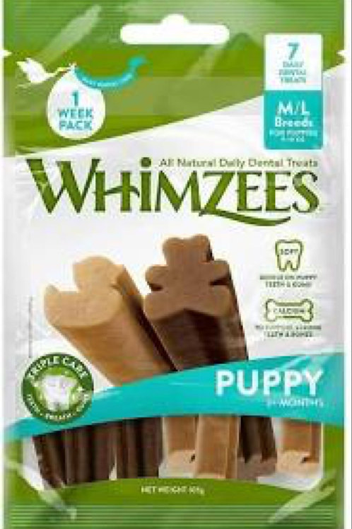 Whimzee Chews for Medium /Large Puppies