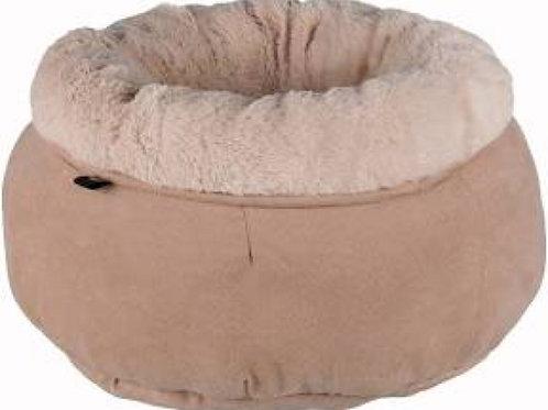 Elsie Bed, Round, 45cm, Beige