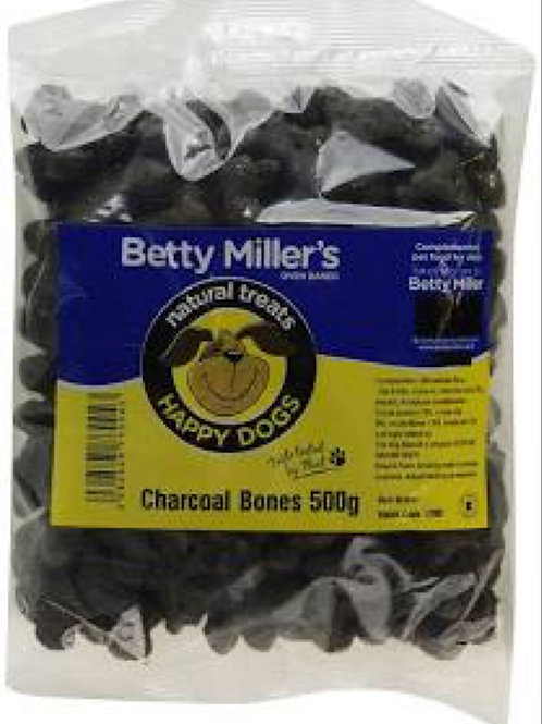 Betty Miller Charcoal Bones for Dogs 500g