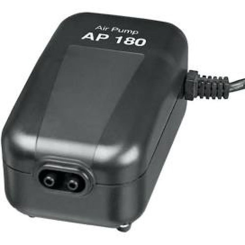 Aquarium Air Pump Outlet AP 180 L/H, 3W, Low-Noise for up to 300L Tanks