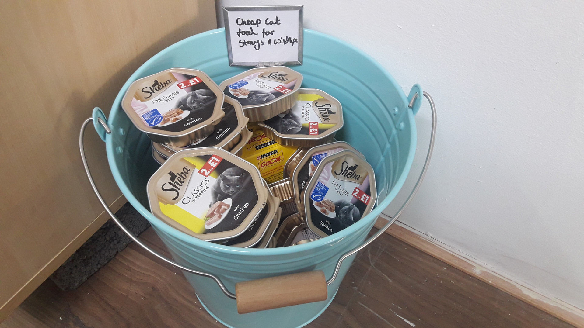 Cheap cat food For Strays & Wildlife