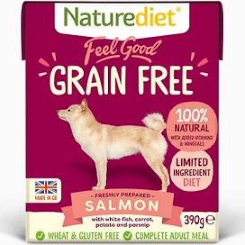 Naturediet Feel Good Grain Free Salmon 390g