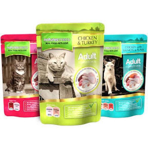 natures:menu Cat Pouch Adult Multipack 12 x 100g