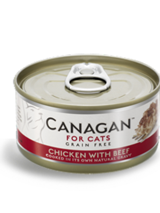 Canagan Cat Can Chicken x Beef 75g