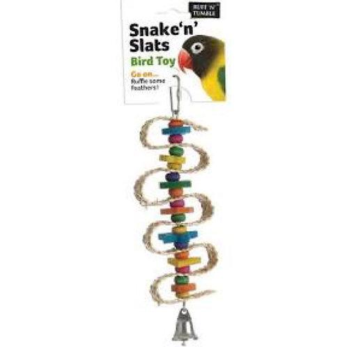 Sharples Snake 'n' Slats Bird Toy