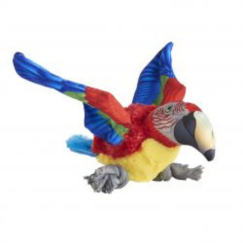 Parrot Dog Toy