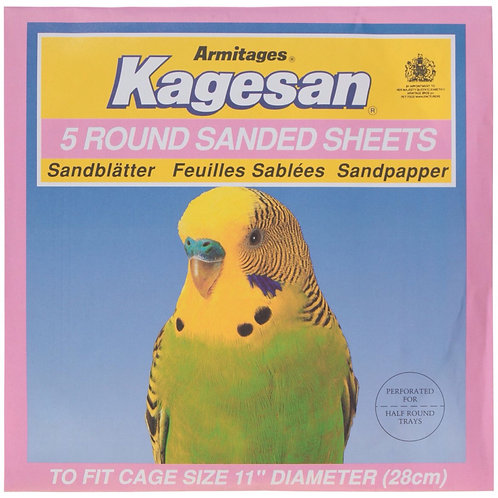 Kagesan Round Sanded Sheets 28cm PINK