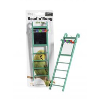 Bead 'N' Rung Budgie Toy Ladder