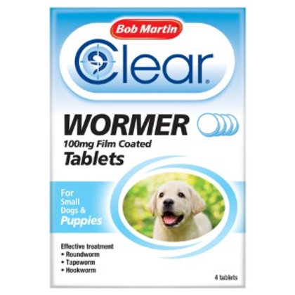 Bob Martin Puppy Dewormer Tablets