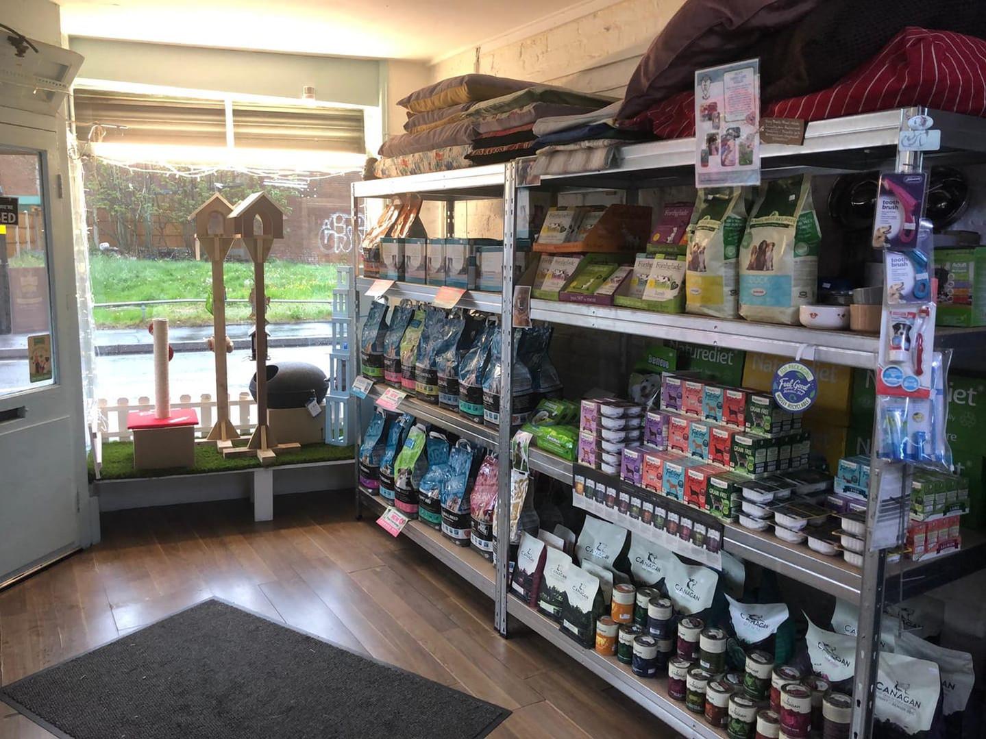 Shop interior 2019
