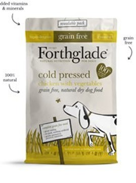 Forthglade Cold Pressed Grain Free Chicken & Vegetables Dry Dog Food 1kg
