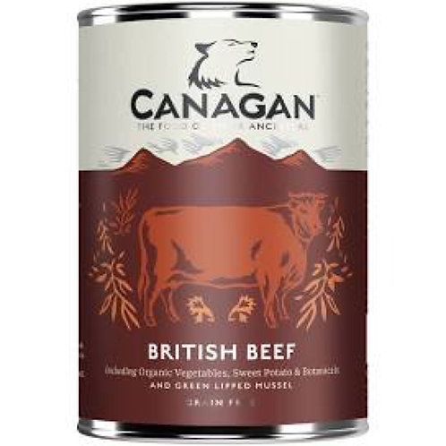 Canagan Dog Can British Beef 400g